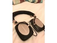B & W P5 headphones (£250 when new)