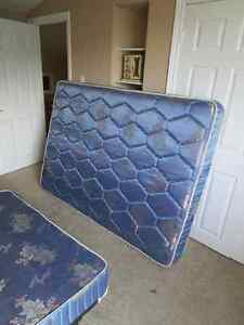 Mattress and Boxspring - Free - Queen size - pickup only.