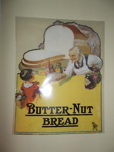 Antique Butternut Bread Store Advertisement