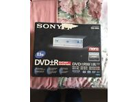 Sony Dvd rewriter for computer