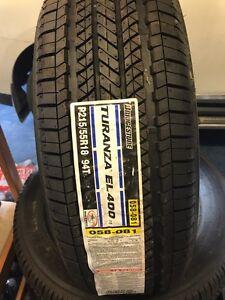 Brand new Bridgestone 215/55/18