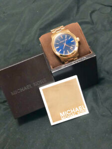 Michael Kors Gold-Tone Oversized Watch