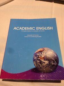 UofT English language course academic english