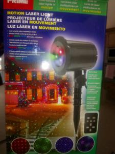 Laser Rotating Light Projector