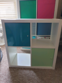 IKEA KALLAX cube storage unit