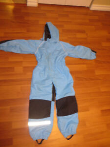 Blue Splash Suit