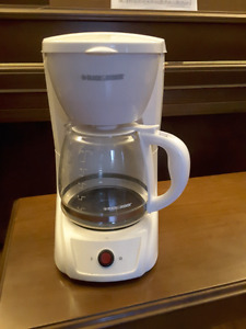 Standard 12 cup coffee maker