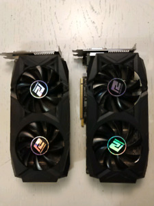 2x rx580 - 250 Each or 400 together