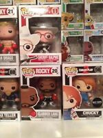 Various Funko Pop! Figures