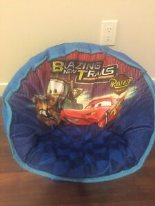 Kids Cars 2 characters round chair