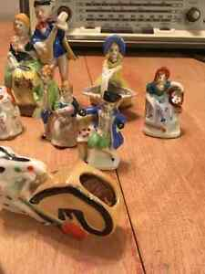 Lot of porcelain figurines. Some made in occupied Japan Cornwall Ontario image 4