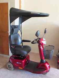 3 WHEEL MOBILITY SCOOTER WITH CANOPY
