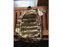 Tactical military sling bag laptop, hunting, hiking .