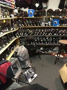Used Hockey Equipment  for Tyke up Frontenac Arena Pro Shop