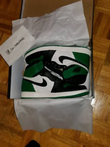 Air Jordan 1 Pine Green size 10.5 US