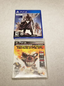 PS4 Destiny and PS3 Twisted Metal