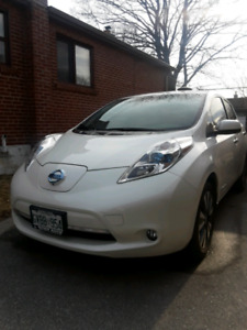 2015 Nissan Leaf SL fully loaded. Accident free