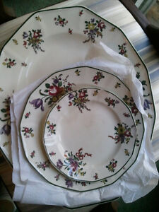 Old Leeds Sprays Royal Doulton dishware