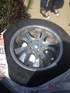 """Rims with Bolt pattern is 5X108mm or 5X4-1/4"""""""