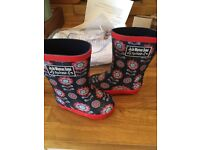 Jojo Maman Bebe brand new with tags Wellington boots size 4