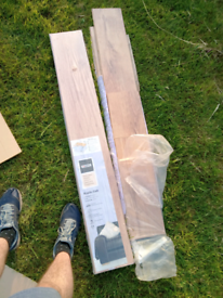 Free, One and a half packs of homebase rustic Oak floor laminate