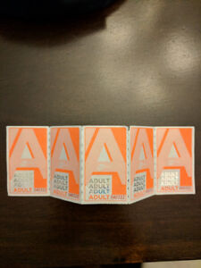 Mississauga Transit Miway bus tickets adult. Almost 40% off.