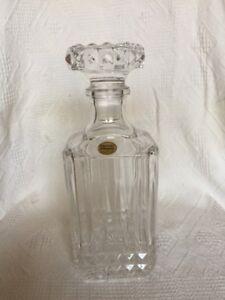 Décanteur Cristal d'Arques - vin et spiritueux – France