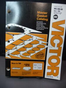 Victor Master Gasket Catalog