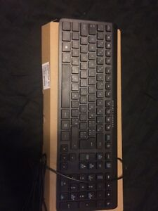 Brand new Hewlett Packard keyboard and mouse