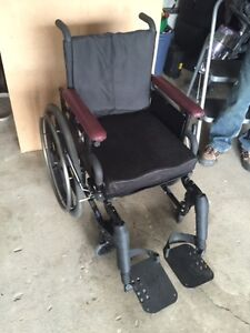 Invacare wheelchair - LIKE NEW CONDITION