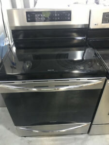 """30"""" SS free standing induction range Frigidaire $899"""