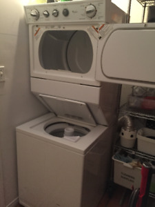 stacking whirlpool washer dryer