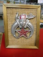 Vintage Shriner's Car Badge