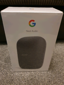 Google Nest Audio Charcoal Grey - Brand New in Sealed Box