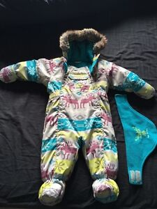 Baby winter one piece suit