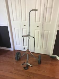 1 Chariot de golf Browning acier galvaniser