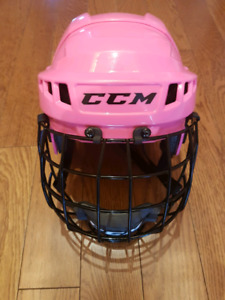 Size S girls hockey helmet with cage