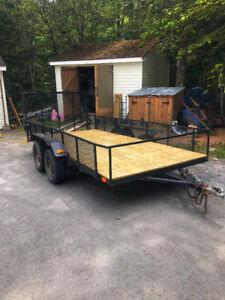 Landscaping trailer/ utility trailer