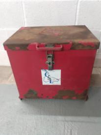 Secure fire/chemical / van safe box
