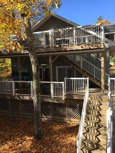 Calabogie Lake, custom, 2 bedroom ski chalet/cottage for rent