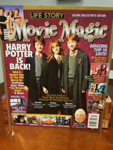 Harry Potter Lifestyle Movie Magic Magazines