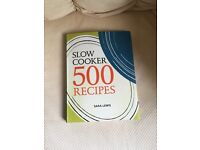 New never used slow cooker book