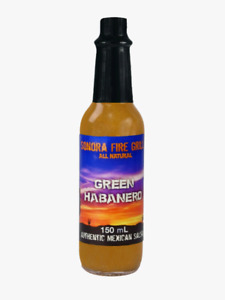 Sonora Fire Grill - Authentic Mexican Green Habanero Salsa