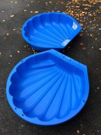 Two brand new toddler paddling pools/ sandpit
