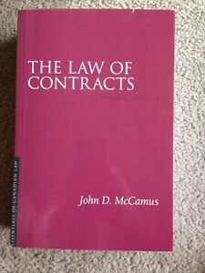 UWO law – the law of contracts London Ontario image 1