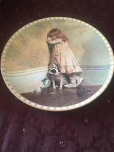 Victorian Childhood Series of 8 Plates