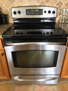 """30"""" GE PROFILE STAINLESS STEEL STOVE"""