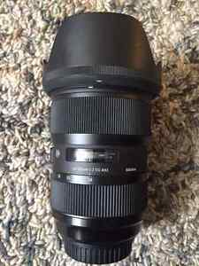 Like New - Sigma 24-35 f/2 ART for Canon 1D, 5D, 6D, 7D EOS