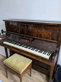 Chappell piano & stool for sale - £200