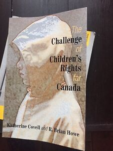 Textbook The challenge of Children's Rights for Canada  Cambridge Kitchener Area image 1